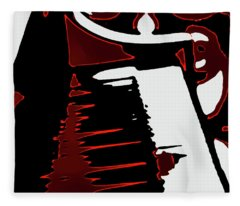 Abstract Piano Fleece Blanket