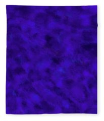 Fleece Blanket featuring the photograph Abstract Purple 7 by Clare Bambers