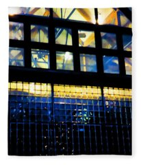 Abstract Reflections Digital Art #5 Fleece Blanket