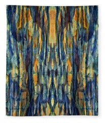 Abstract Symmetry I Fleece Blanket