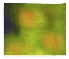 Abstract Untitled Fleece Blanket