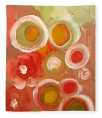 Abstract Viii Fleece Blanket