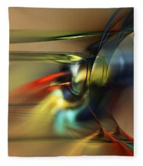 Abstraction 022023 Fleece Blanket
