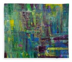 Abstract_untitled Fleece Blanket