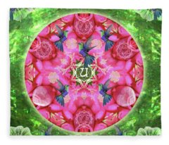 Abundant Flight Fleece Blanket