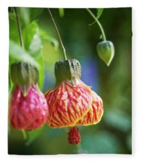 Abutilon Fleece Blanket