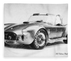 Ac Cobra Shelby 427  Fleece Blanket
