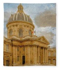 Paris, France - Academie Francaise Fleece Blanket