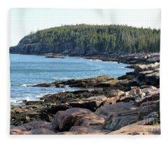 Acadia Cove Fleece Blanket
