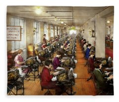Accountant - The Enumeration Division 1924 Fleece Blanket