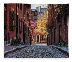 Acorn St. Fleece Blanket