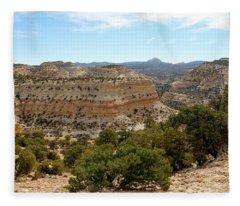 Across Utah  Fleece Blanket