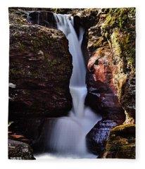 Adams Falls Fleece Blanket