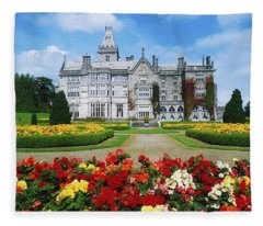 Adare Manor Golf Club, Co Limerick Fleece Blanket