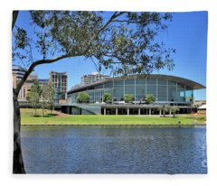 Adelaide Convention Centre Fleece Blanket