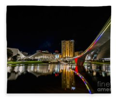 Adelaide Riverbank Fleece Blanket