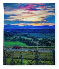 Adirondack Country Fleece Blanket