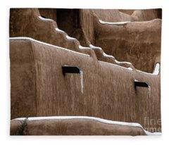 Adobe Walls Fleece Blanket