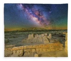 Aeons Of Time Fleece Blanket