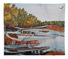 Aeronca Super Chief 0290 Fleece Blanket