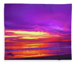 Aesthetic Arrest Fleece Blanket