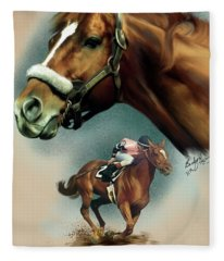 Affirmed With Name Decor Fleece Blanket