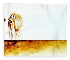 African Marriage - Original Artwork Fleece Blanket