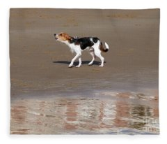 After A Swim Fleece Blanket