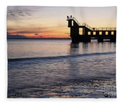After Sunset Blackrock 2 Fleece Blanket