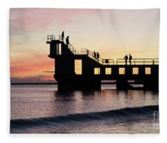 After Sunset Blackrock 4 Fleece Blanket