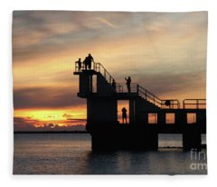 After Sunset Blackrock 5 Fleece Blanket