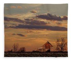 After The Harvest Fleece Blanket