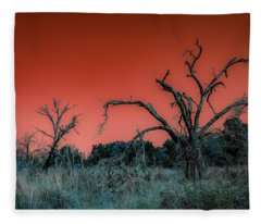After The Hurricane Wars Fleece Blanket