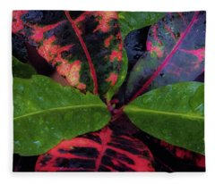 After The Rain Has Fallen Fleece Blanket