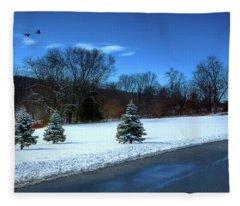After The Snow Fleece Blanket