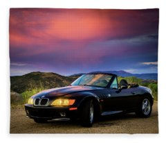 After The Storm - Bmw Z3 Fleece Blanket