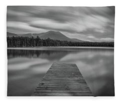 Afternoon At Daciey Pond Fleece Blanket