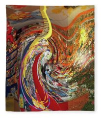 Afternoon Hallucination Fleece Blanket