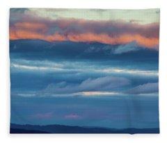 Afternoon Sandwich Fleece Blanket