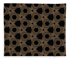 Agate Dimensions Fleece Blanket