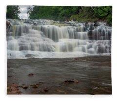 Agate Falls Fleece Blanket