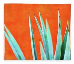 Agave 2 Fleece Blanket