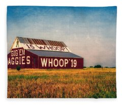 Aggie Barn 2015 Fleece Blanket