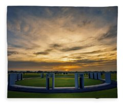 Aggie Bonfire Memorial Fleece Blanket