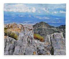 Aguereberry Point Rocks Fleece Blanket