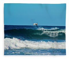 Air Bourne Fleece Blanket