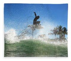 Air Show Fleece Blanket