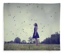 Airborne Fleece Blanket
