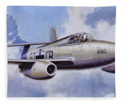 Aircraft Fleece Blanket