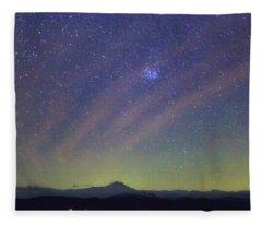 Airglow Fleece Blanket